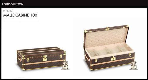 prix neuf malle cabine Louis Vuitton