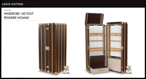 M12016 - Malle armoire prix du neuf Louis Vuitton 37000 euros