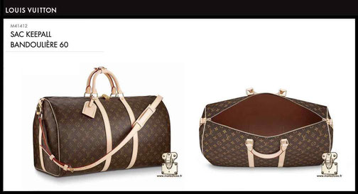 new louis vuitton keepall shoulder bag price 60 M41412