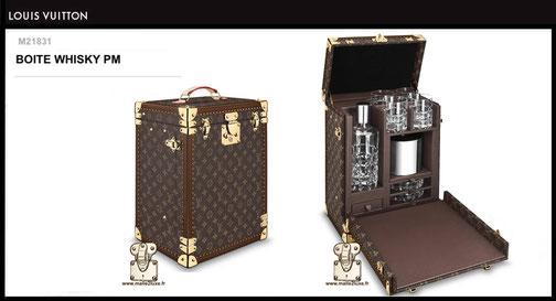 M21831 - Boîte whisky PM Louis Vuitton prix du neuf 22000 euros