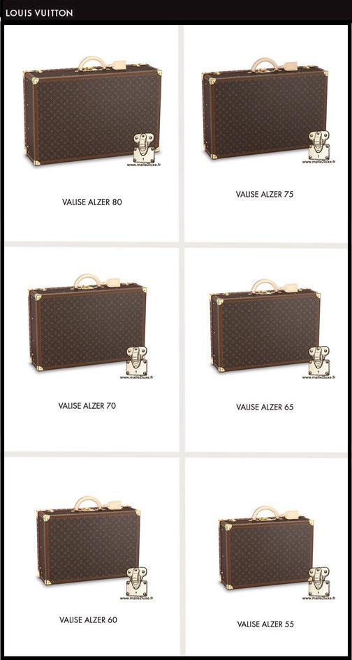prix valise neuve louis vuitton alzer  M21229 5500 euros M21225 6300 euros