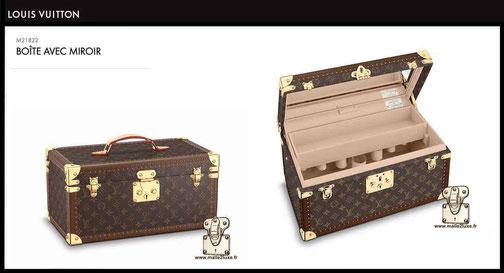 prix valise neuve louis vuitton boite a bouteille miroir vanity M21822