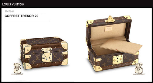 M47004 - Coffret Louis Vuitton prix 2300 euros neuf