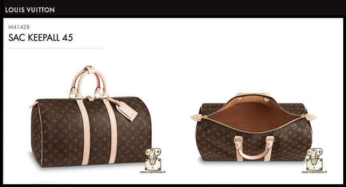 price new bag louis vuitton keepall 45 M41428
