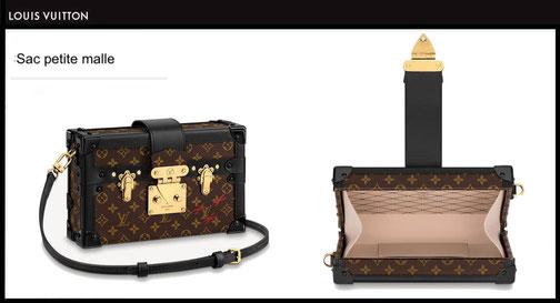 Mini Sac petite Malle Louis Vuitton prix du neuf Janvier 2021 M44199 trunk