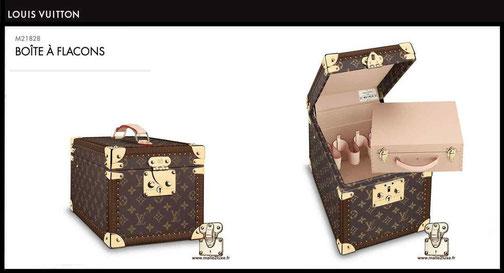 M21828 - Vanity boîte flacon prix du neuf Louis Vuitton 3300 euros