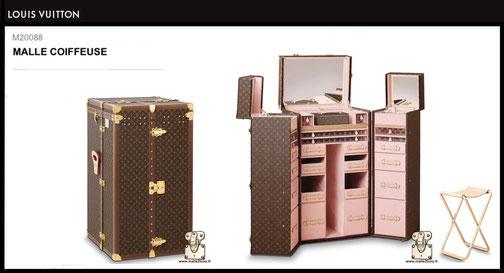 M20088 - Malle Coiffeuse Louis Vuitton prix du neuf 160000 euros