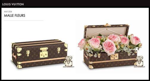 prix neuf malle a fleurs Louis Vuitton