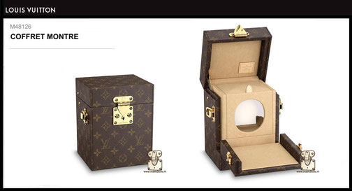 M48126 - Coffret montre Louis Vuitton prix neuf 3900 euros