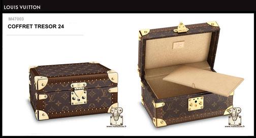M47003 - Coffret trésor 24 Louis Vuitton prix 2600 euros neuf