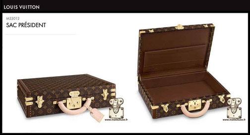 prix valise neuve louis vuitton president M53012
