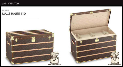 M131010 - High mail trunk 110 price of the new Louis Vuitton 30,000 euros