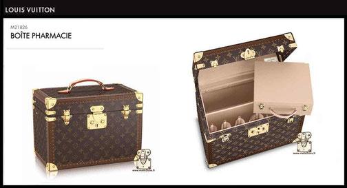 M21826 - Boîte pharmacie prix neuf Louis Vuitton 3900 euros