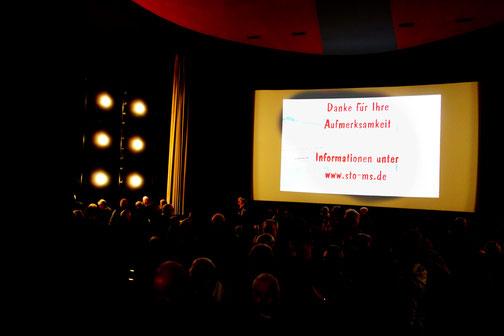 Lichtbildervortrag im Schlosstheater