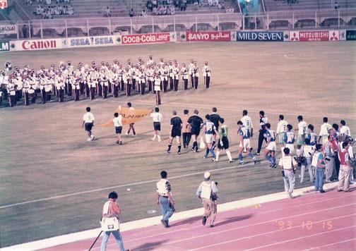 ドーハの初戦 日本 vs サウジアビアは0対0