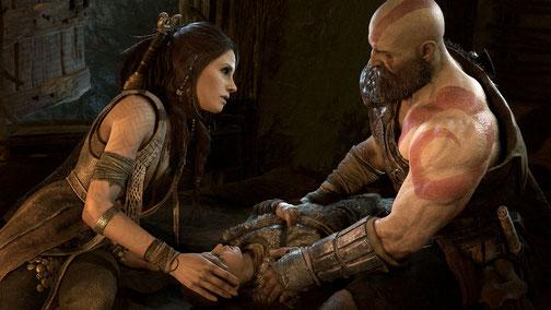 Kratos muss in God of War für PS4 ohne Sex-Spiele auskommen. Bild: Sony