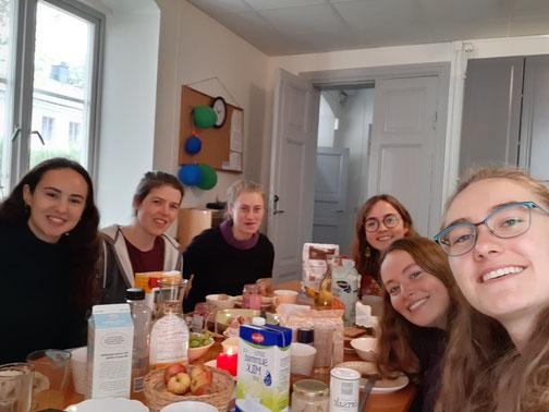 Unsere Küche im Wohnheim - tatsächlich ein zweites Zuhause