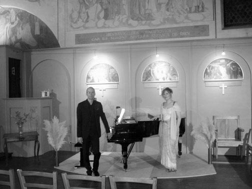 Duo Euphonie: Tiphaine Alzias-Herrault et Frantz Baronti