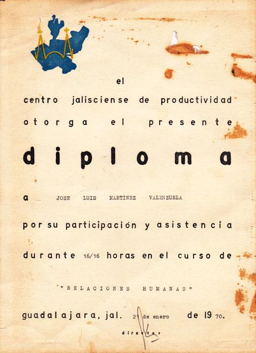 """DIPLOMA EN """"RELACIONES HUMANAS"""""""