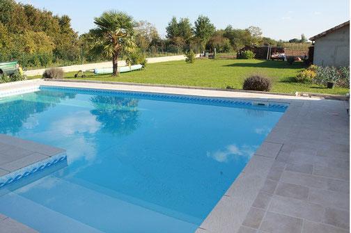 A St Girons belle réalisation de plage de piscine
