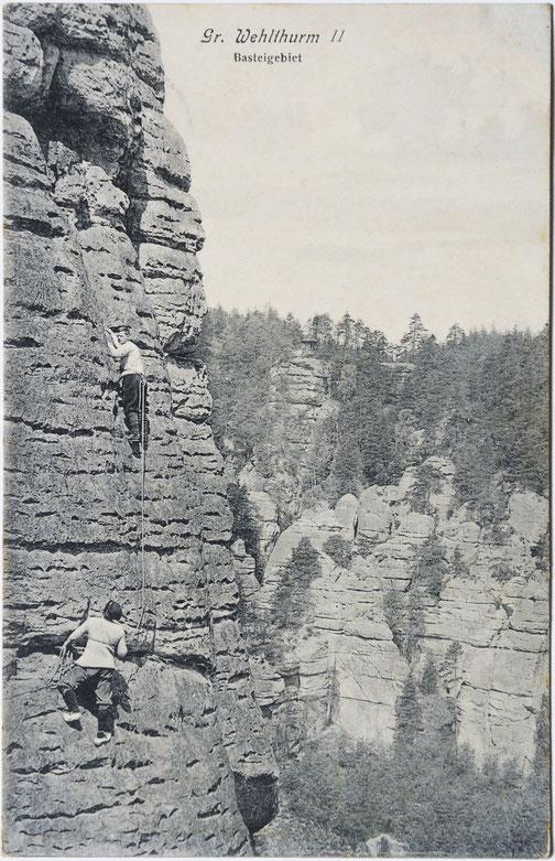 Großer Wehlturm, Hünigweg, Ansichtskarte