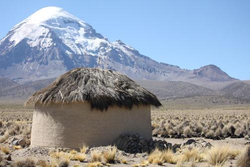 Wandern durch das Hochland Boliviens
