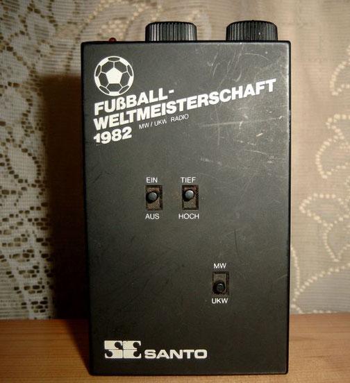 Transistorradio UKW/MW nur mit Kopfhörerbetrieb WM 1982 Edition