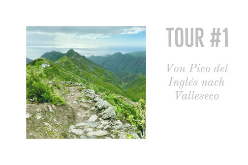 Teneriffa, Wandern, Kanaren, Valleseco, Pico del Ingles, Anaga