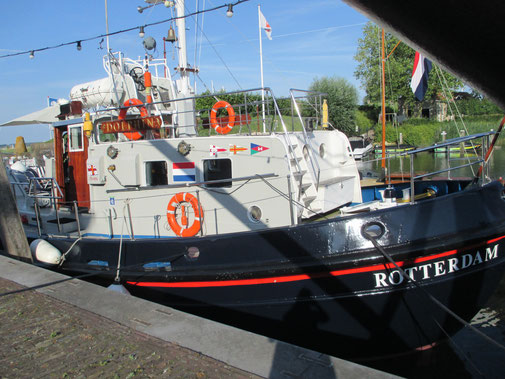Seenotrettungskreuzer: liebevoll restauriert