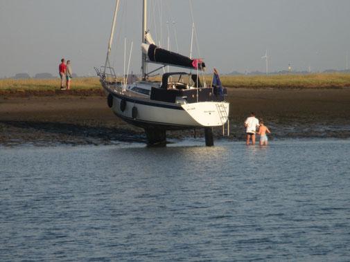 Yacht geparkt - alles gut!