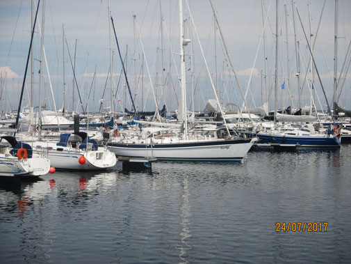Auriga im Hafen von Kühlungsborn