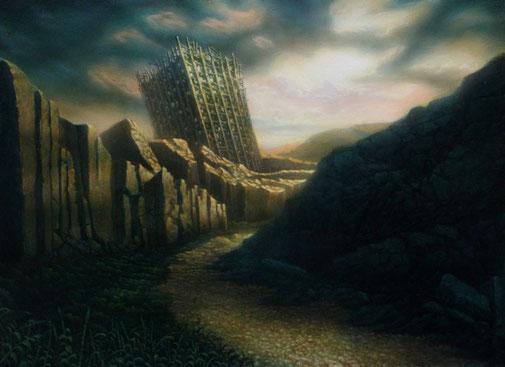 「cenotaph」 アクリル・パネル    455×333mm