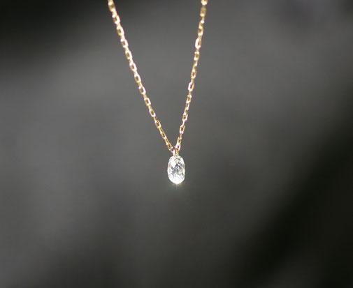 ブリオレットカットダイヤモンド