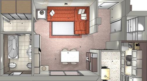 Adattare mobili: misure, colori, impianti