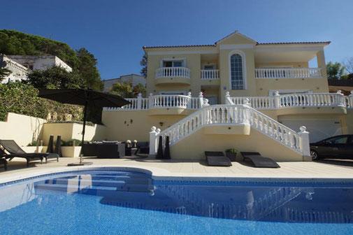 Location villa avec piscine privée pour 6 personnes à Lloret de mar pour les vacances en Espagne