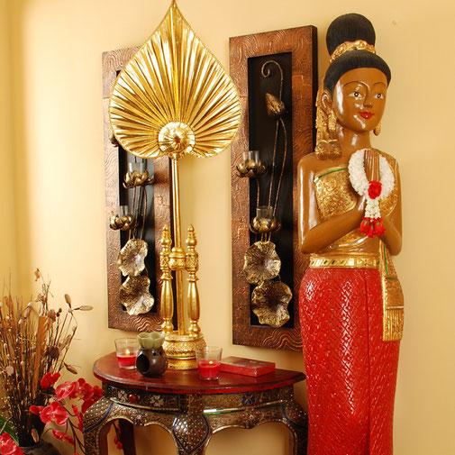 Thai Massage Mainz liebevoll eingerichtete Räume