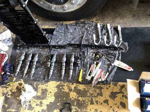 トラックのインジェクター