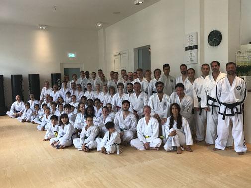Taekwondo-Institut Berlin - Gruppenfoto