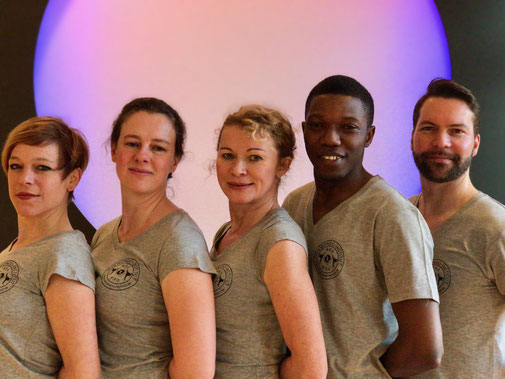 Das Lehrer-Team des Taekwondo-Instituts Berlin