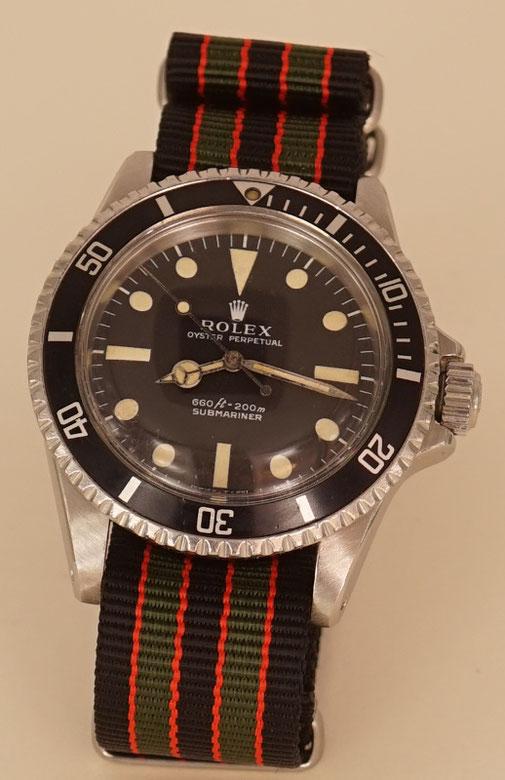 Rolex Submariner am Nato Strap