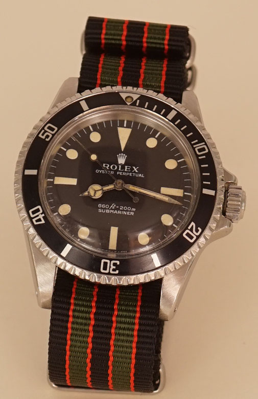 Rolex Submariner am Nato Strap