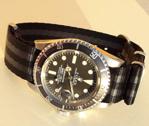 Rolex Submariner 1680 am Nato Strap