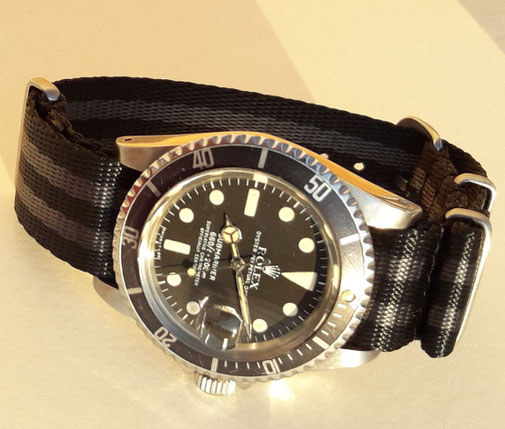 Rolex Submariner 1680 am Nato Strap