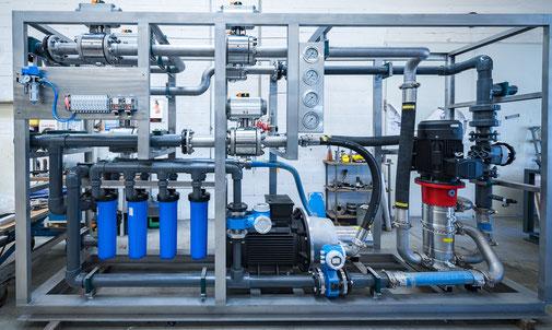 RO Hochdruckpumpen mit Energierückgewinnung