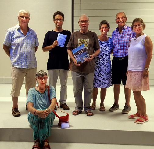 Gruppenbild der Pilger vom Kinzigtäler Jakobusweg