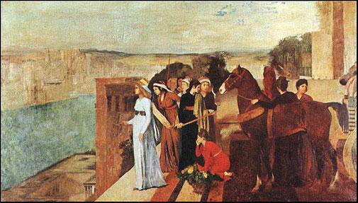 《バビロンを建設するセミラミス》1860-62年