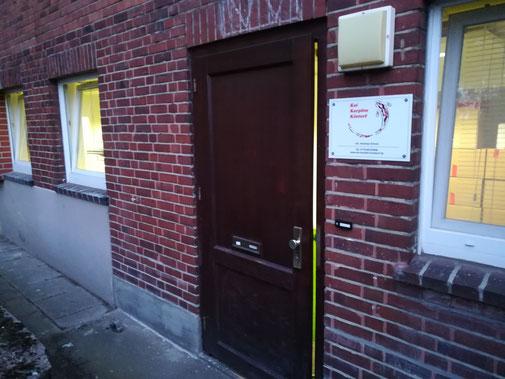 Eingang Hamburg-Stellingen