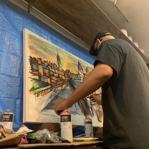 NOVOL, painter, 2021カレンダー, Eighty's Antiques
