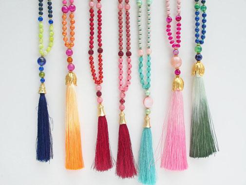 Wunderschöne Perlenkette