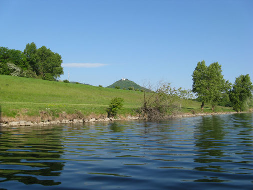 Blick auf den Leopoldsberg.